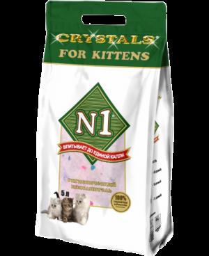N1 CRYSTALS FOR KITTЕNS «Силикагелевый»